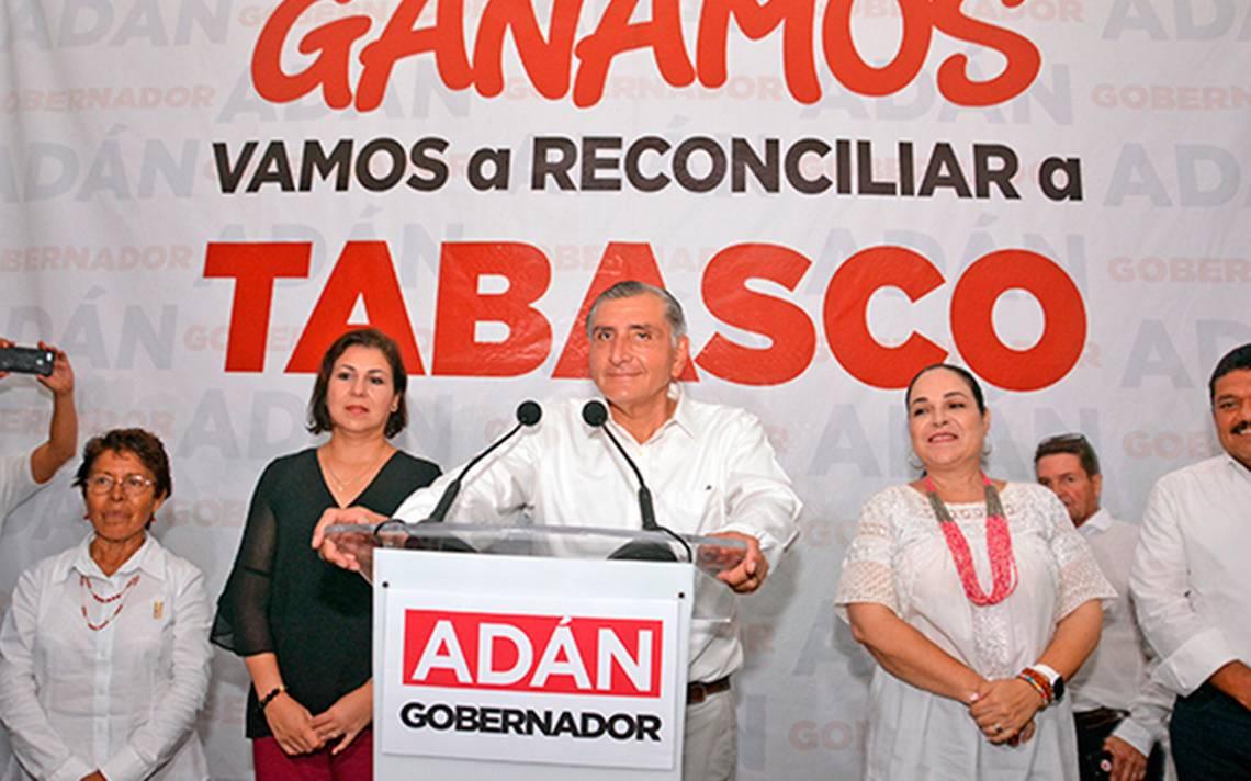 Cierra PREP: candidato de Morena por la gubernatura de Tabasco, líder del conteo