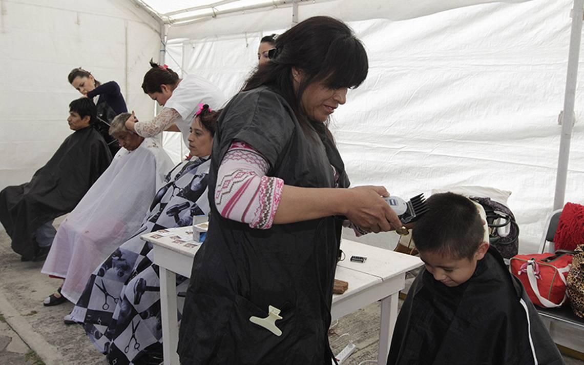 Al alza el oficio de peluquero en Chiapas