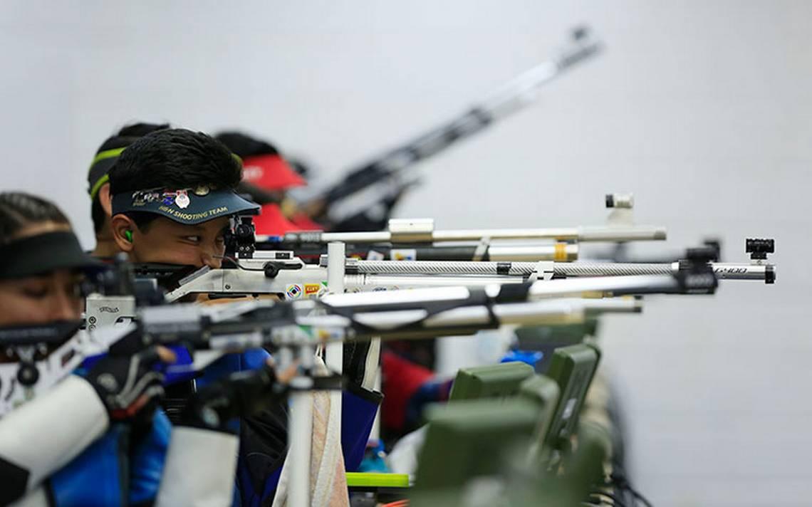 México gana medalla de oro en rifle de aire mixto