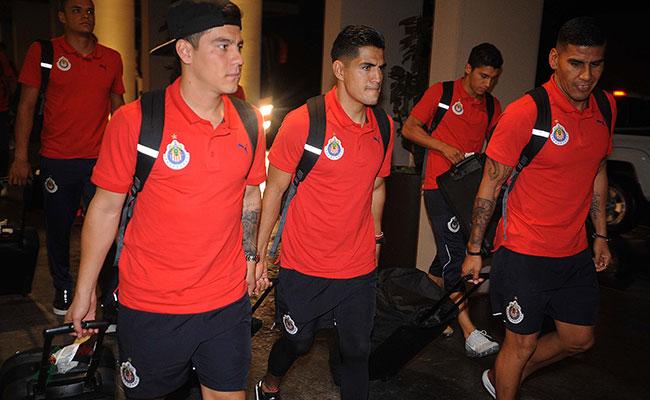 Las Chivas llegaron a Cancún