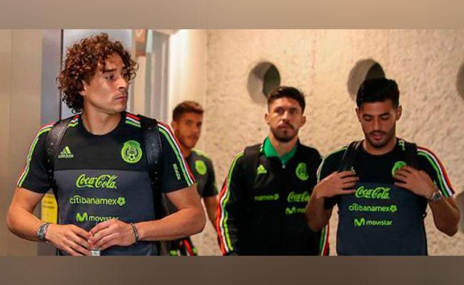 Selección Mexicana ya se encuentra en Ámsterdam