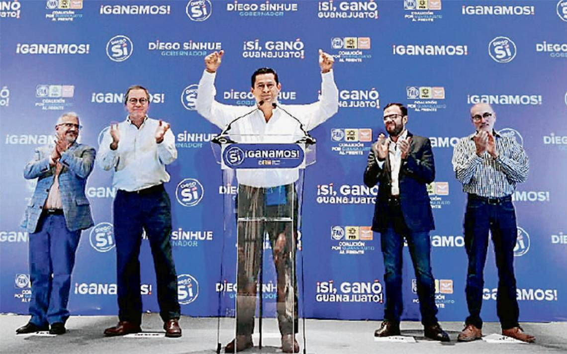 Diego Sinhué se consolida como virtual ganador tras avance del PREP