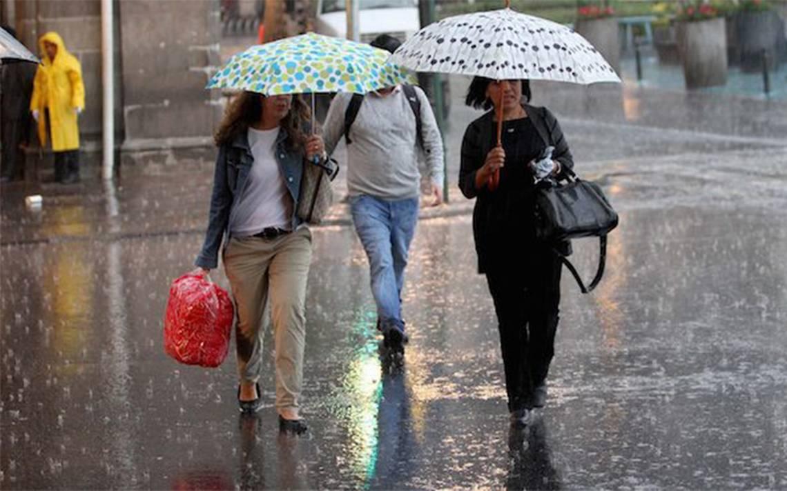 Prevén para esta semana primer temporal de lluvias de septiembre