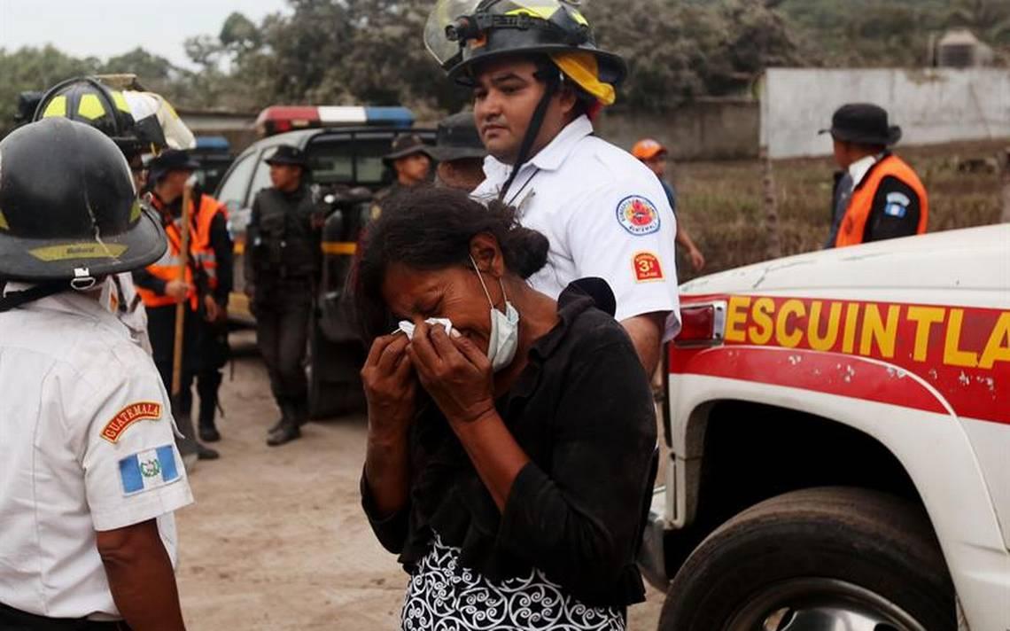 México apoyará con labores de rescate en Guatemala tras catástrofe