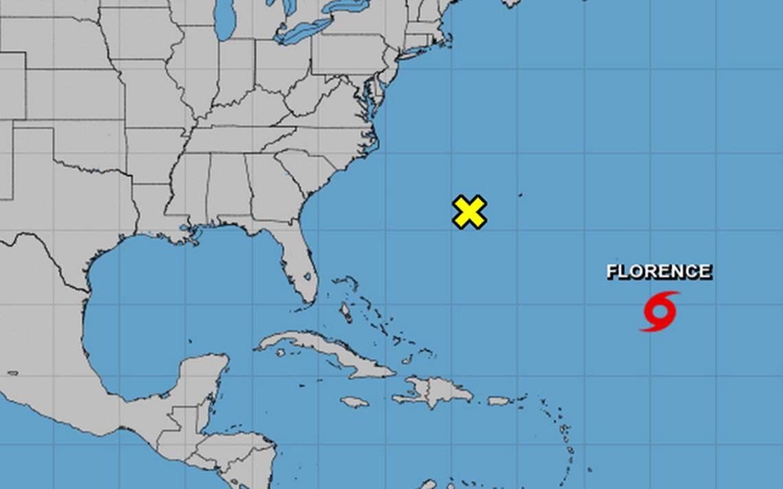 Tormenta Florence se convertirá en huracán el domingo en medio Atlántico