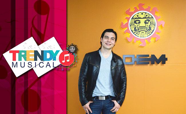 #TrendyMusical Luis Saravia, el guatemalteco con corazón mexicano