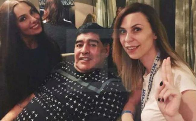 Periodista rusa acusa a Diego Maradona de acoso sexual