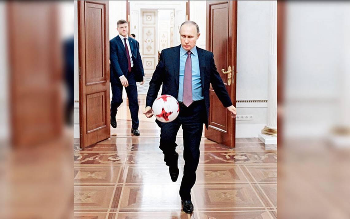 Putin utiliza como arma política al Mundial Rusia 2018