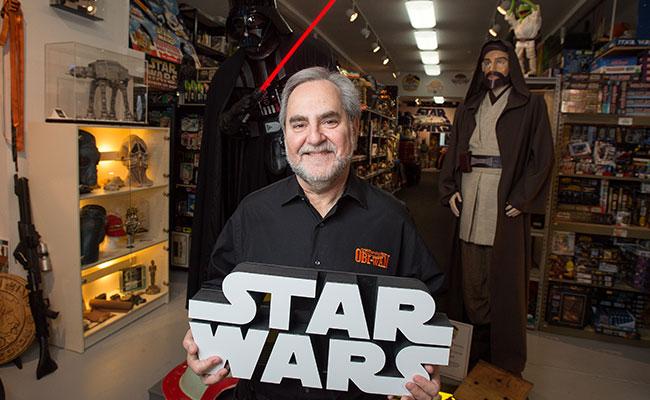 """Robado por su amigo: dueño de la mayor colección de """"Star Wars"""" pierde más de 100 objetos"""
