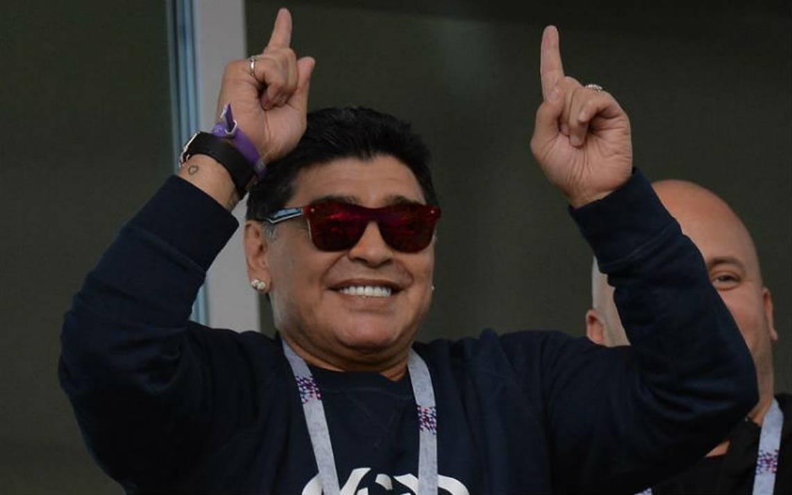 Maradona se deshace en elogios para el Tri tras triunfo sobre Alemania
