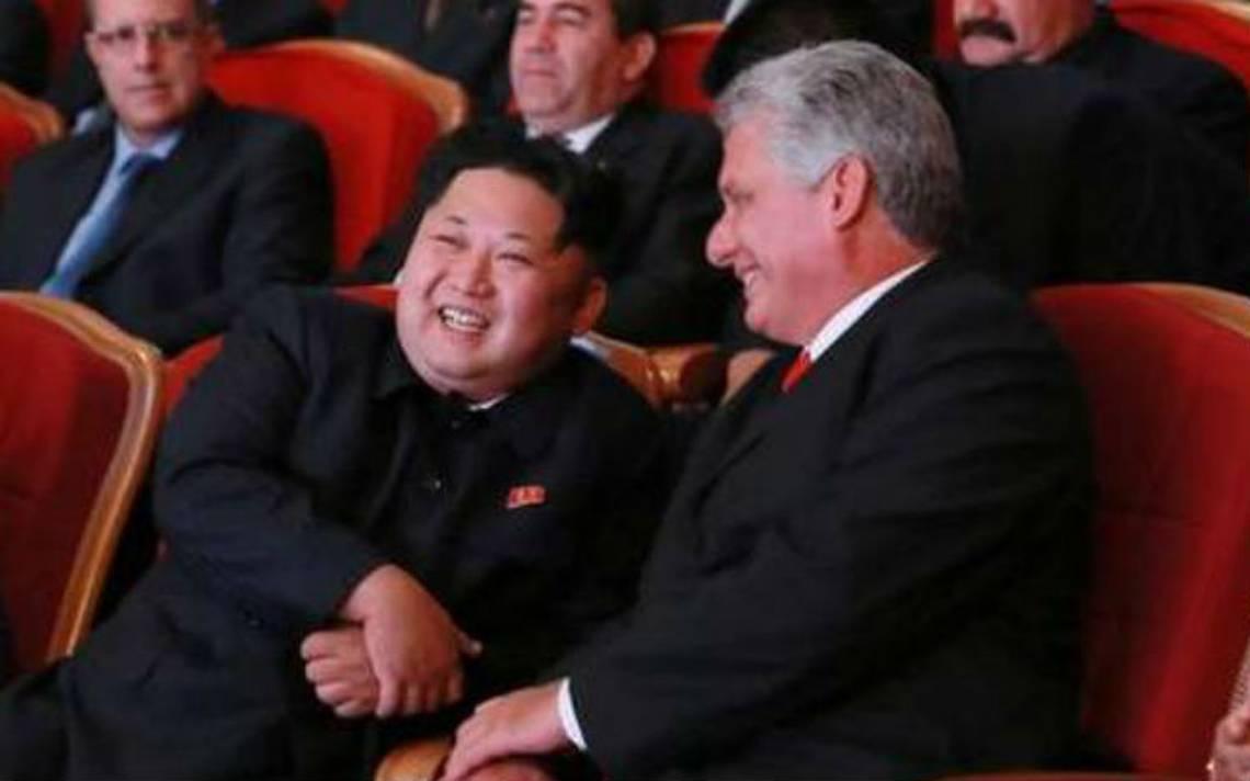 """Kim Jong-un envía """"cálidas felicitaciones"""" a nuevo líder cubano Díaz-Canel"""