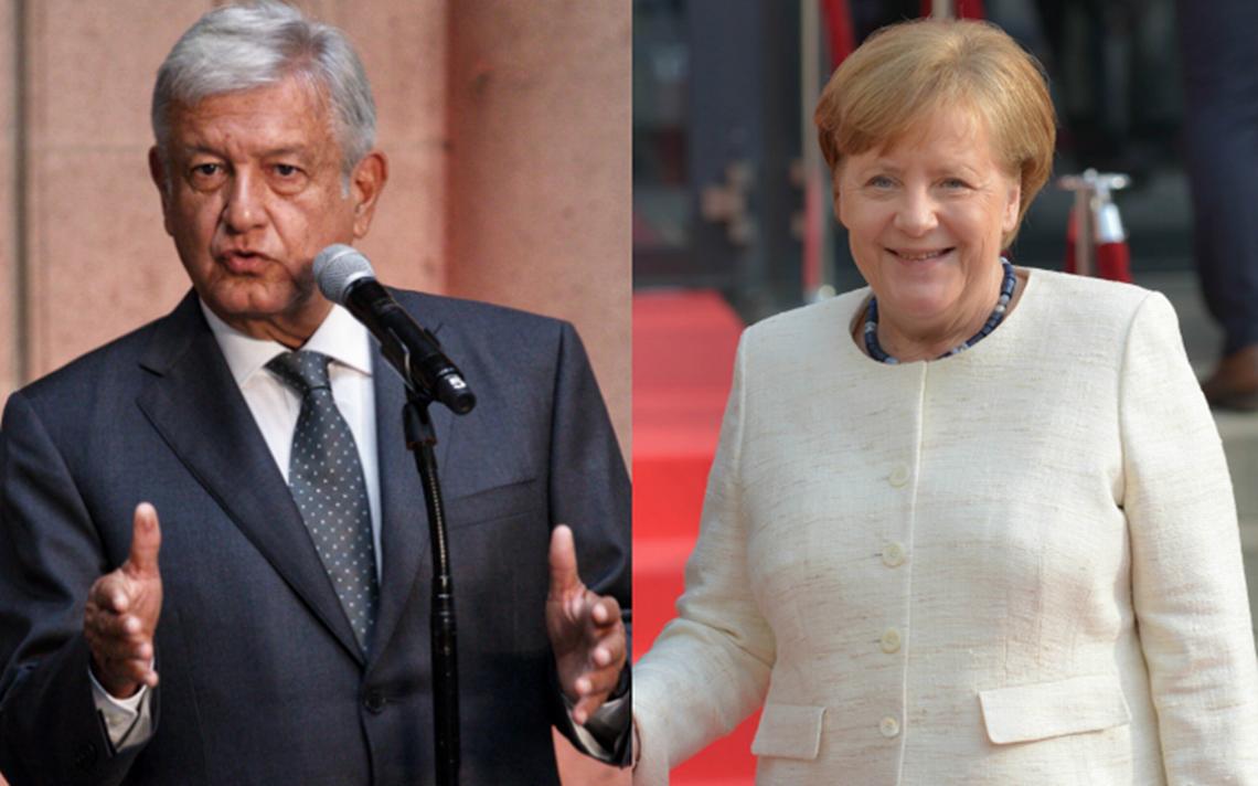 Angela Merkel felicita a AMLO por triunfo en elecciones