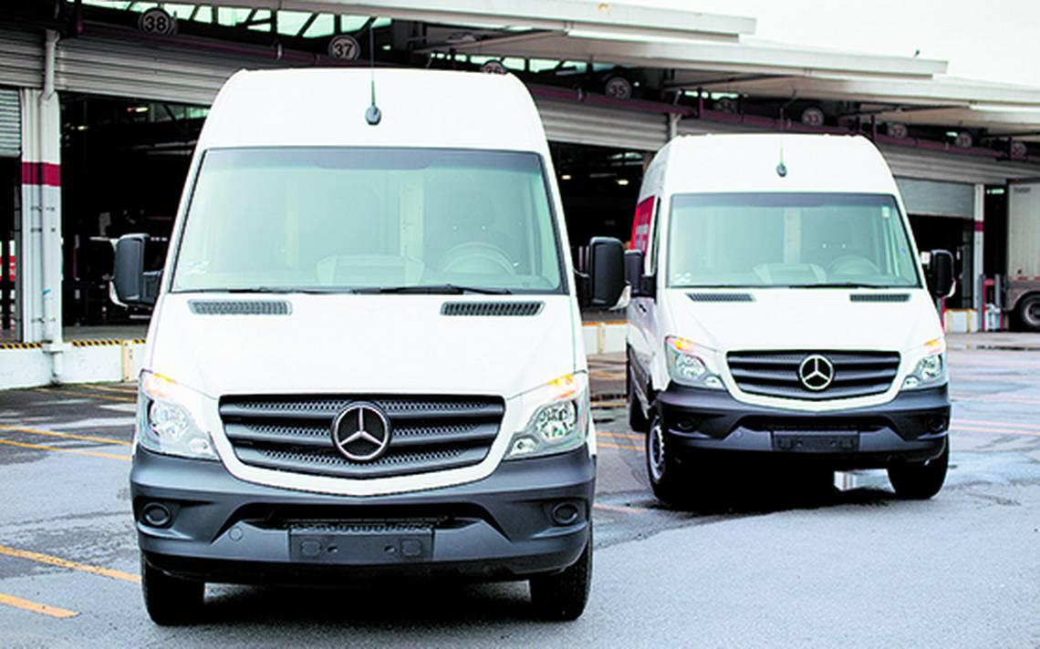MensajerA�a en minutos gracias a Mercedes-Benz