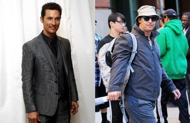 ¡Matthew McConaughey se transforma y sube 21 kilos!