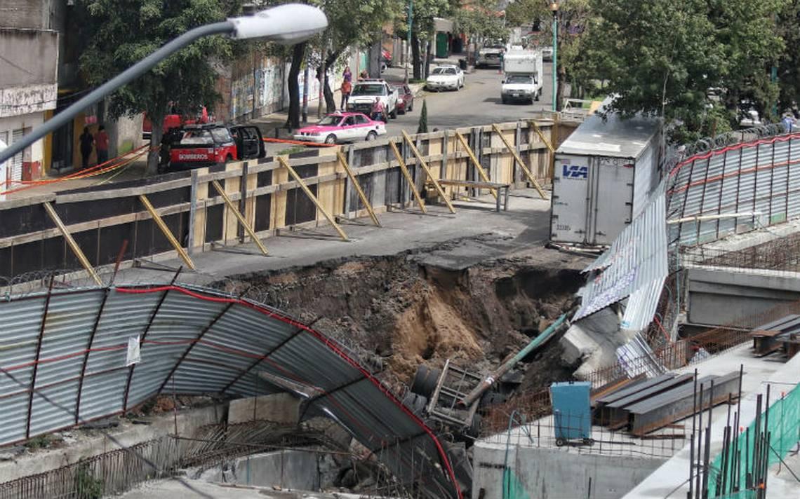 Socavón en Oceanía se formó por fuga de agua potable; suspenden construcción de centro comercial