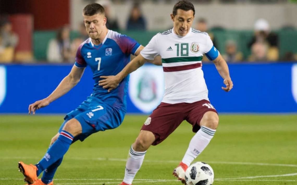 Con doblete de Layún, México vence 3-0 a Islandia
