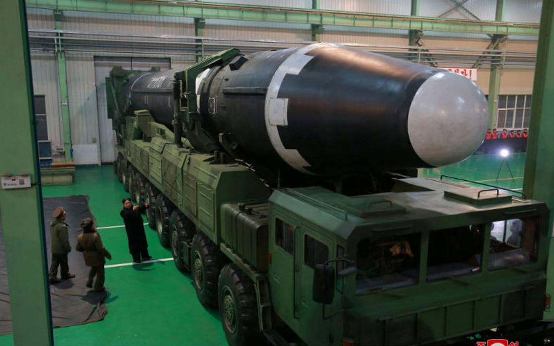 Así es el Hwasong-15, el misil de Norcorea que alcanzaría a EU