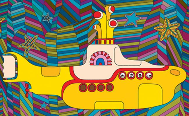 """Filme de The Beatles """"Yellow Submarine"""" será convertido en cómic"""