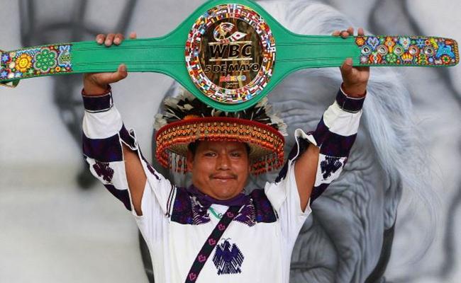 Cinturón para Canelo o Chávez Jr. será una obra de arte indígena