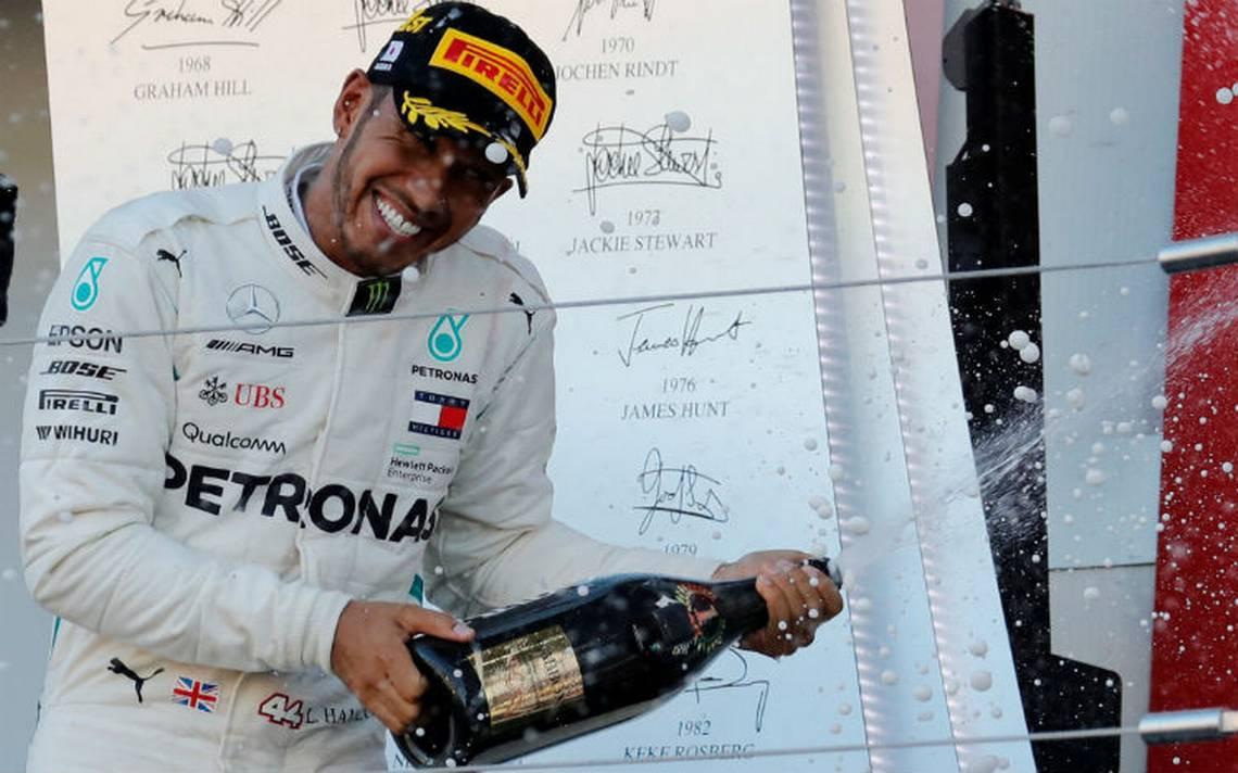 Hamilton da un paso mA?s al tA�tulo tras ganar el GP de JapA?n; Checo termina en sA�ptimo