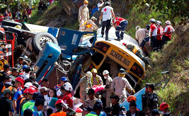 Accidente vial deja 23 muertos y 39 heridos en Honduras