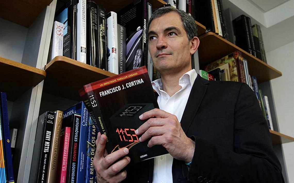 Francisco J. Cortina presenta su nuevo libro 11:53