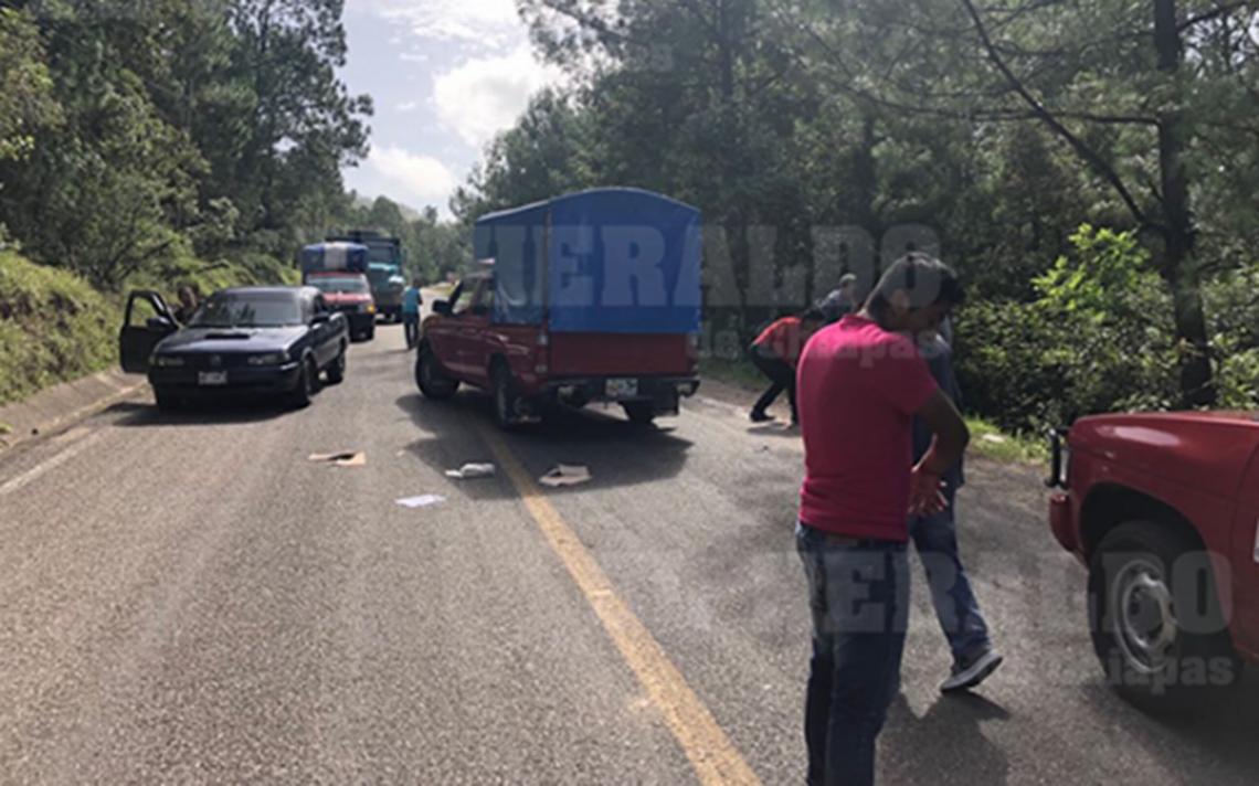 Asaltan vehículo y se llevan 11 mil boletas en Huixtán, Chiapas