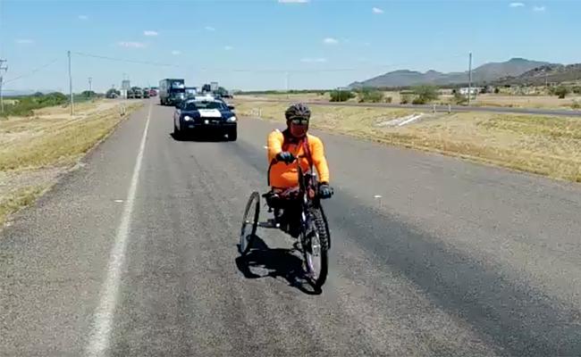 Video: Conoce a Mario Davalo, el hombre que recorre México en silla de ruedas