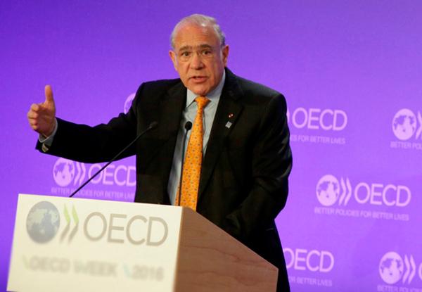 El Secretario general de la OCDE presentará diversos estudios sobre la economía mexicana