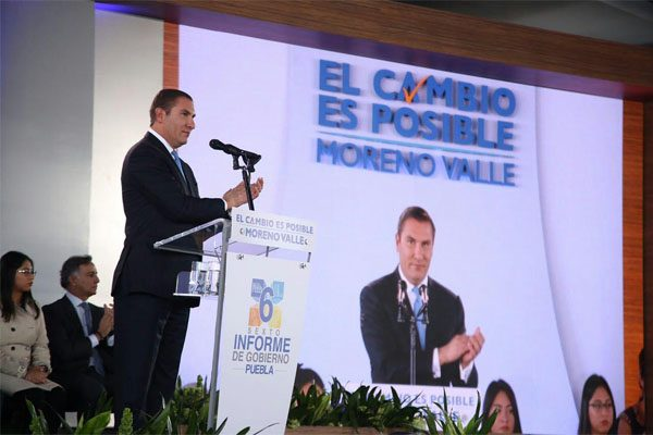 México requiere un cambio y ya comenzó en Puebla: Moreno Valle