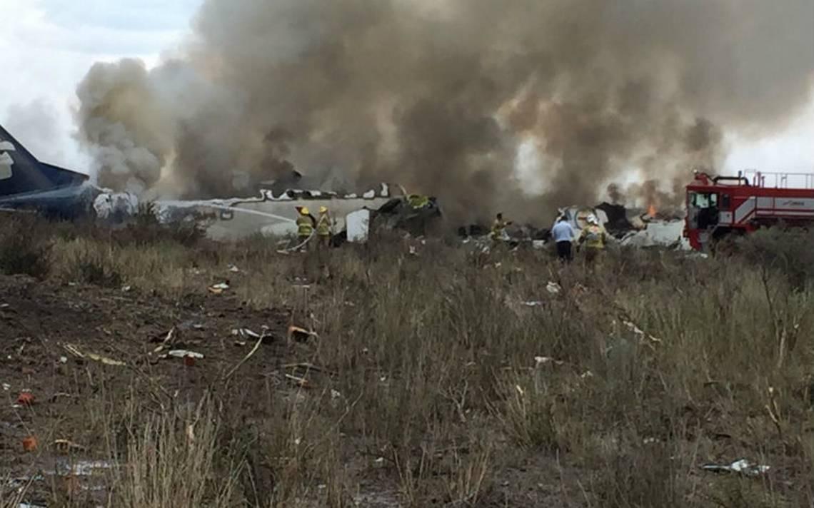 ¿Quiénes viajaban en el avión accidentado en Durango de Aeroméxico?