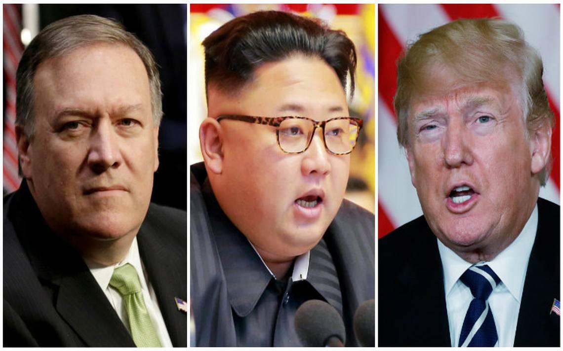 """Trump elogia """"buena relación"""" entre Pompeo y Kim Jong Un"""