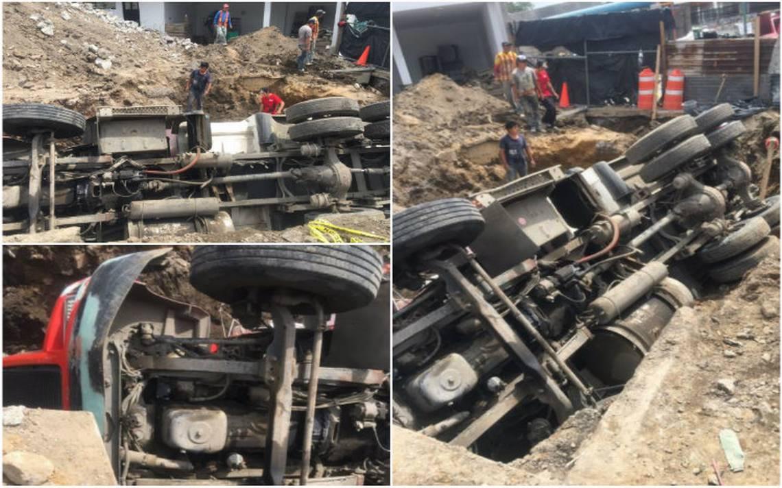 Vuelca camión sobre autopista México – Puebla en Ixtapaluca