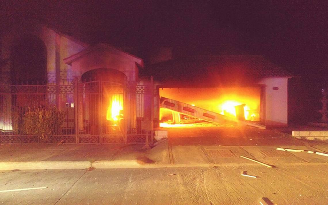 Investiga Fiscalía casas quemadas en Cuauhtémoc