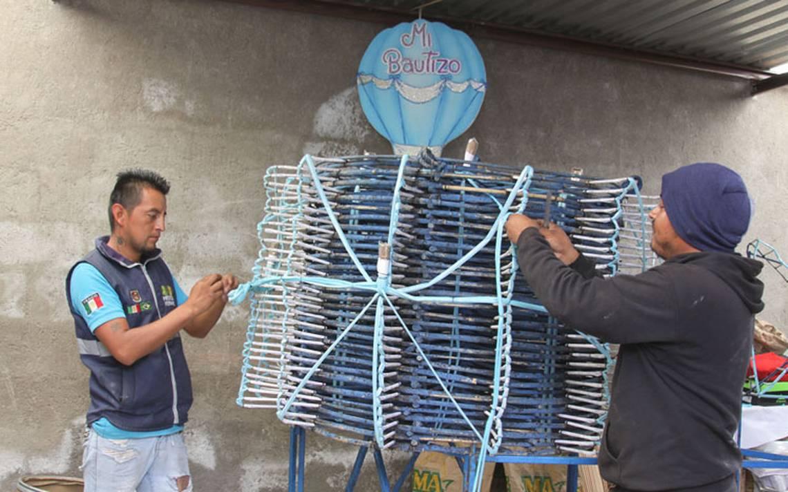 Pirotecnia vive una crisis en Tlaxcala