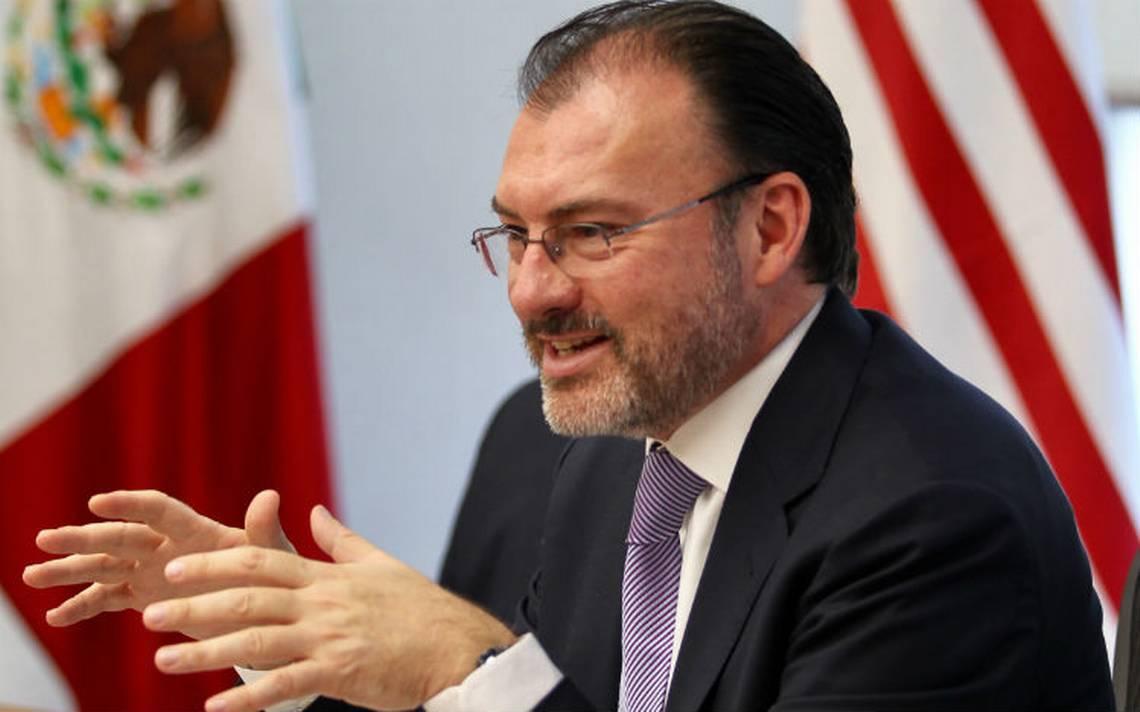 México no negociará el TLCAN en redes sociales: Videgaray