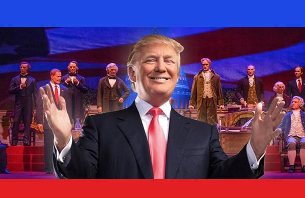 ¡Robot de Trump sí tendrá voz en Disney!