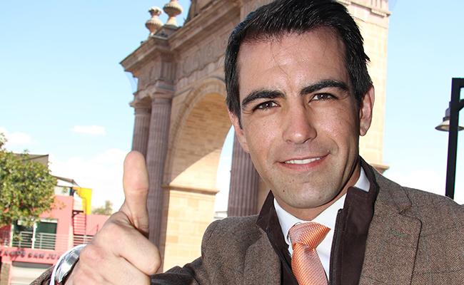 Arturo Macías en la Feria de León