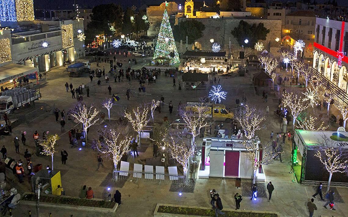 Jerusalén, entre la paz y el conflicto en Navidad