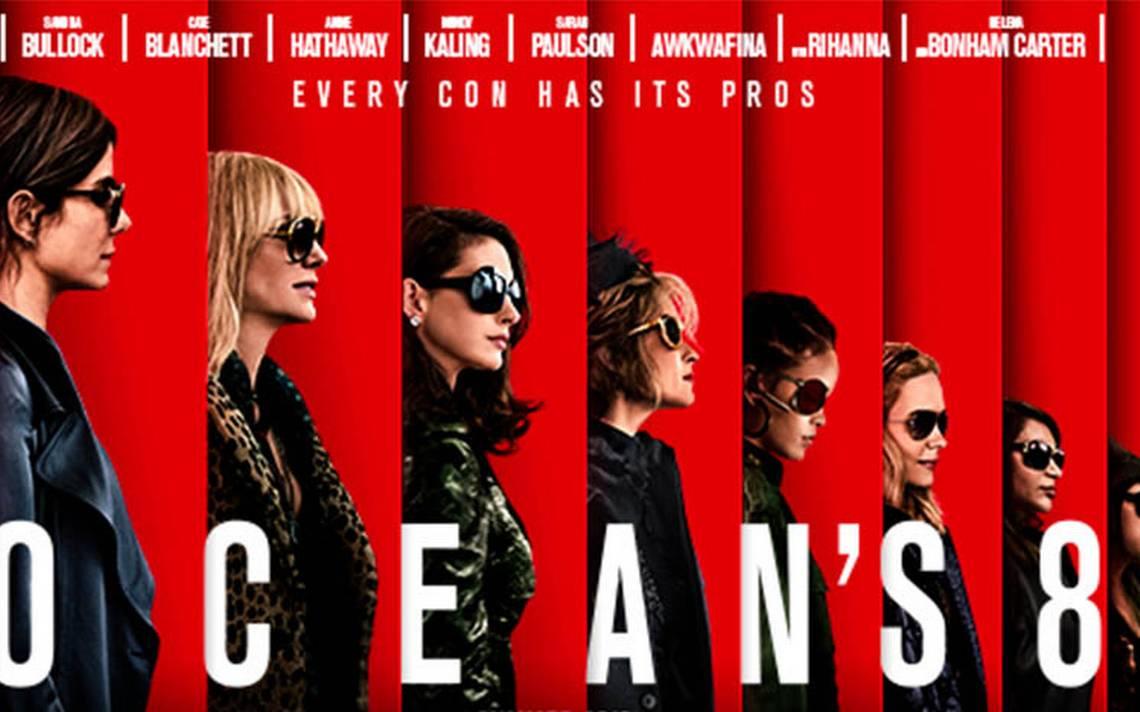 """Revelan trailer de """"Ocean's 8"""", ahora las chicas realizarán 'la gran estafa'"""