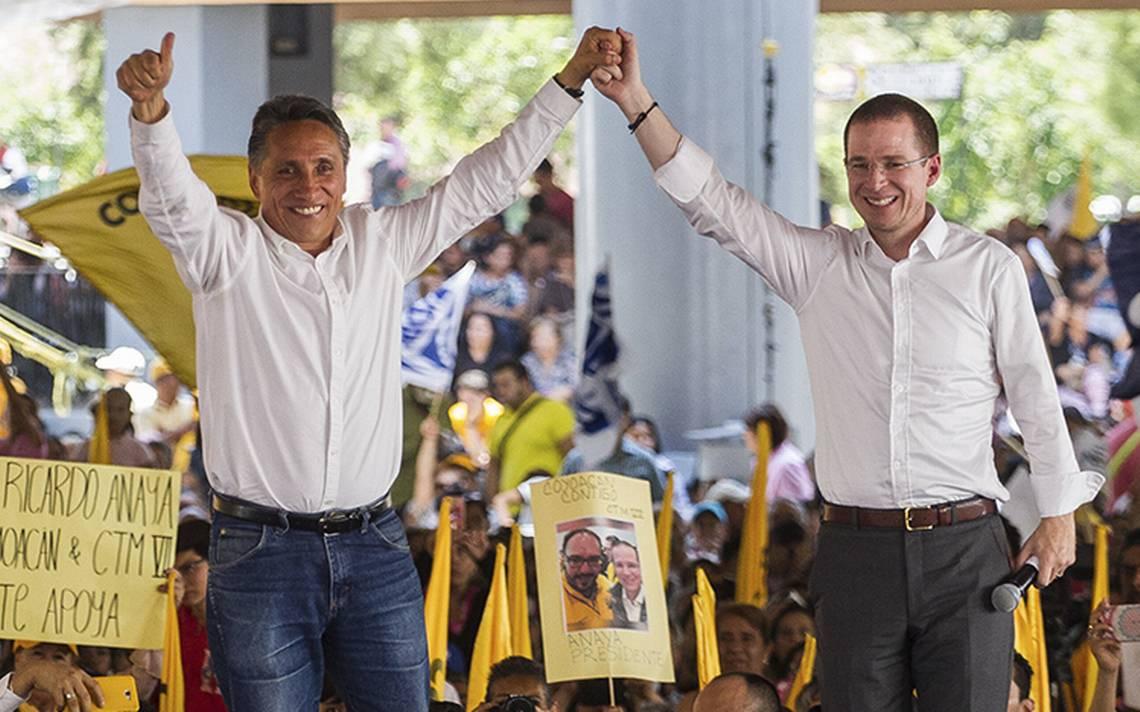 Partido del Trabajo celebra anulación de elecciones en Coyoacán