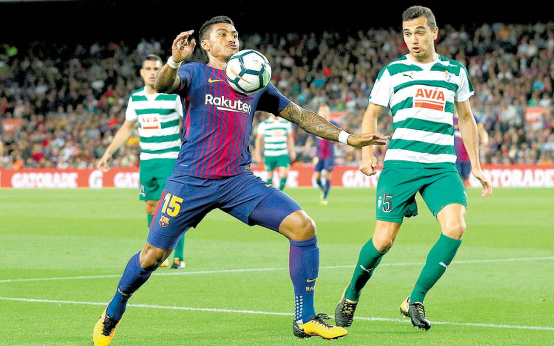 Barcelona golea al Eibar