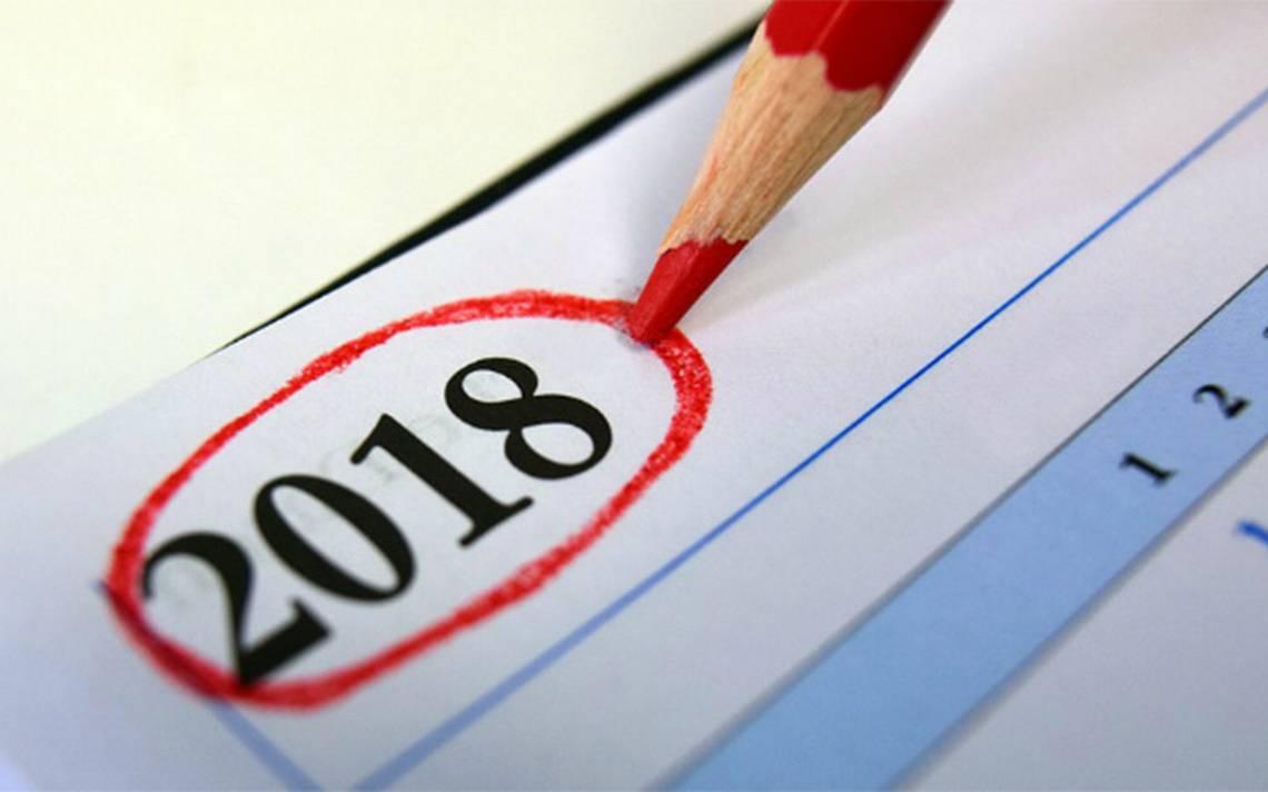 ¿Cuáles son los días festivos y puentes del 2018? Aquí te decimos