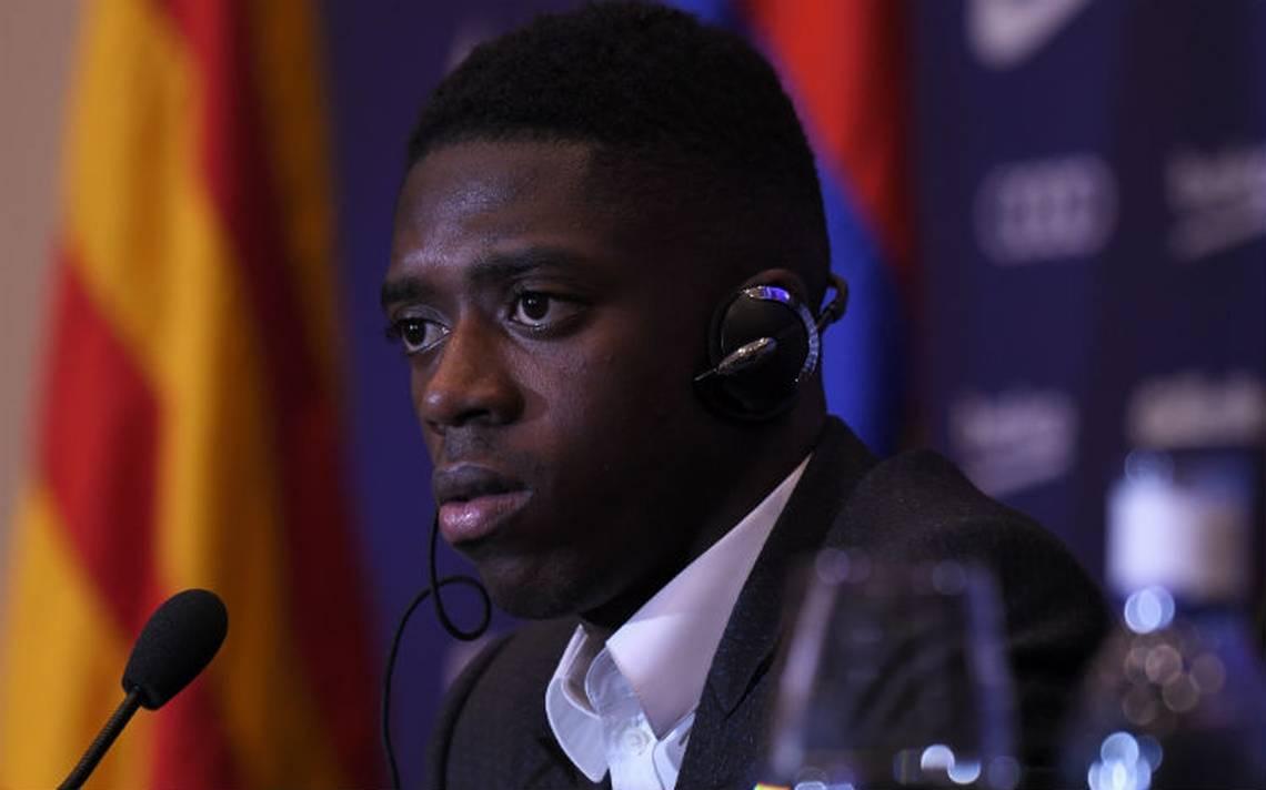 ¡Al fin! Dembelé es presentado como nuevo astro del Barcelona