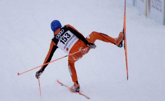 Venezolano participa en Mundial de Esquí sin haber conocido la nieve
