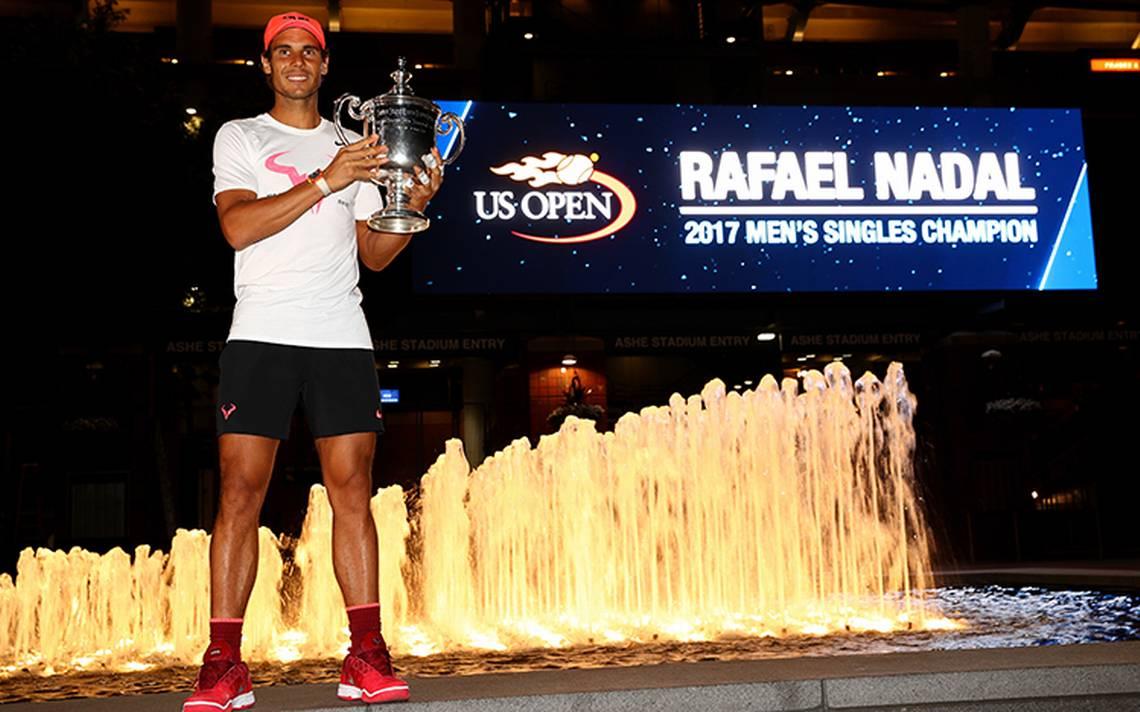 Rafael Nadal, llegó al aeropuerto de Son San Juan en Palma