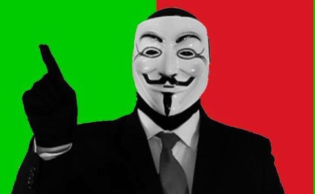 """Anonymous advierte a """"Centinelas""""; tienen 24 horas para entregarse"""