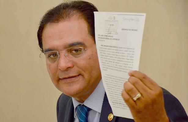 Pide senador juicio político para Gabino Cué