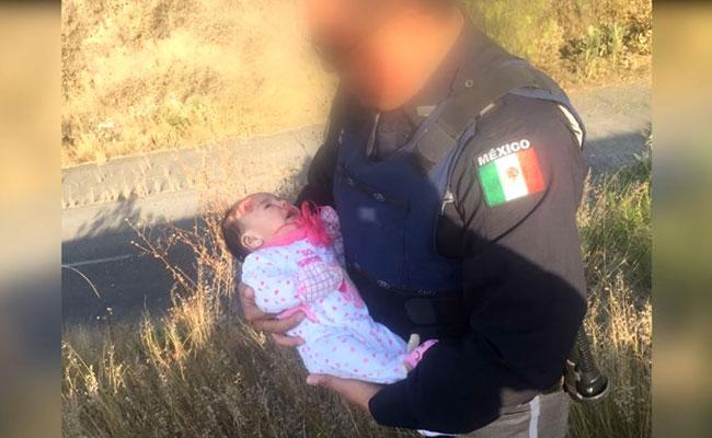Encuentran a madre de bebé abandonada en la México-Querétaro