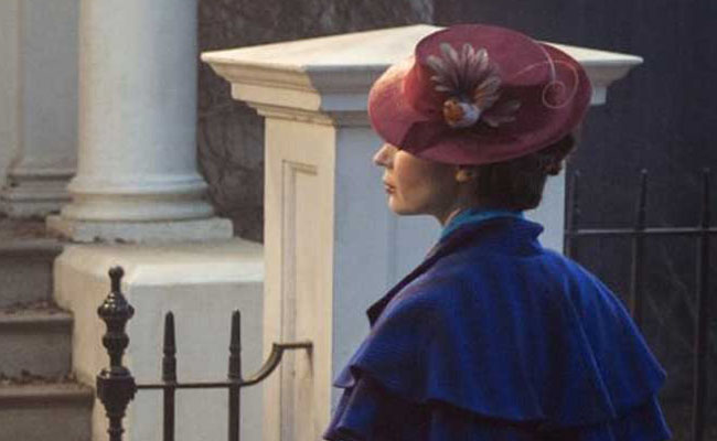 "Revelan primera imagen de Emily Blunt como ""Mary Poppins"""
